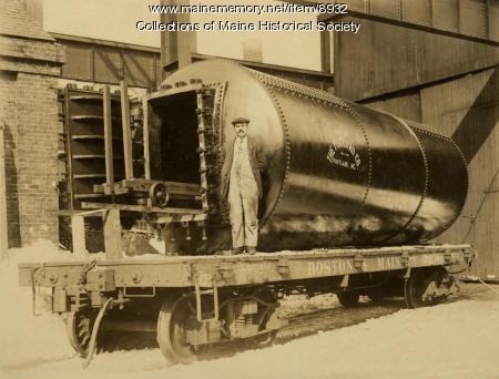 Sanford Mills steam box