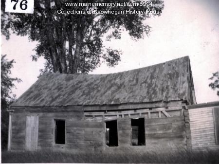Birthplace of Frank A. Munsey, Skowhegan, ca. 1919