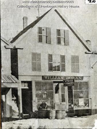 Westerly Side of Madison Avenue, Skowhegan, ca. 1860