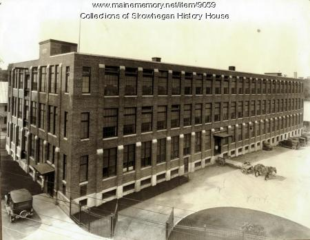 Maine Spinning Company mill, Skowhegan, ca. 1925