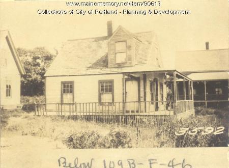 Griffin property, Church Road, Cliff Island, Portland, 1924