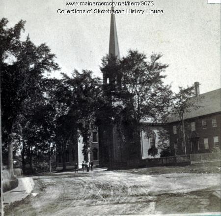 Island Avenue, Skowhegan, ca. 1870
