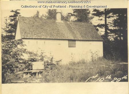 First Tenth Twenty-ninth Regiment Association property, N. Side Island Avenue, Long Island, Portland, 1924