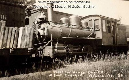 Monson Narrow Gauge Engine No. 3