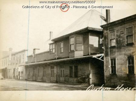 24 Custom House Wharf, Portland, 1924