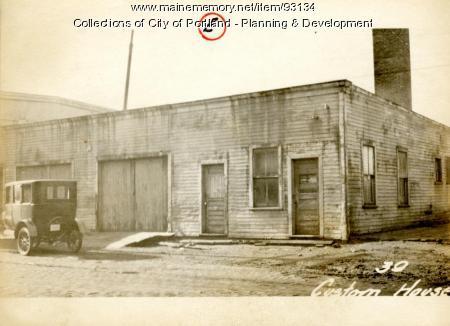 39 Custom House Wharf, Portland, 1924