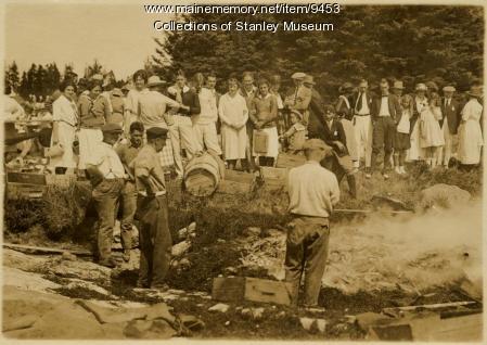 Squirrel Island Clambake, 1921