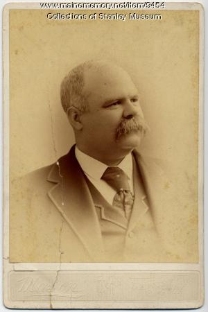 Clarence V. Emerson, Lewiston, circa 1905