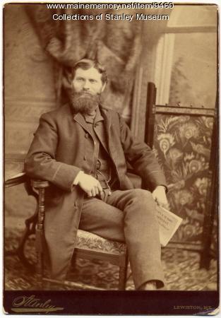 F. E. Stanley, Lewiston, ca. 1882