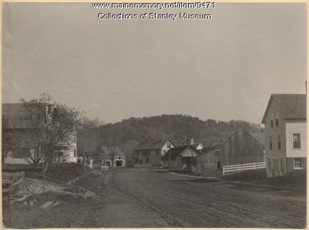 Depot Street, Kingfield, ca. 1895