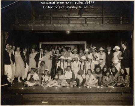 Summer masquerade, Squirrel Island, ca. 1920