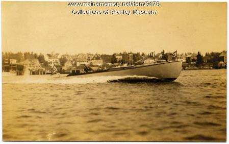 On Patrol in Boothbay Harbor, 1917