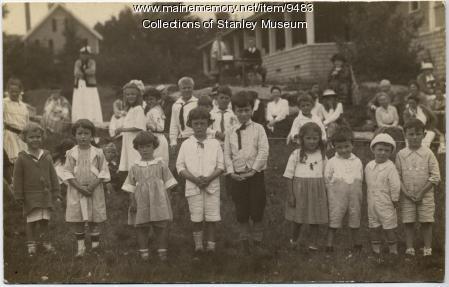 Squirrel Island children, ca. 1910