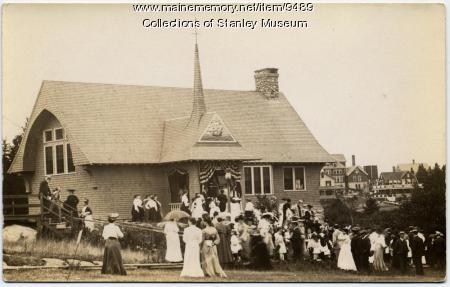 Squirrel Island Library dedication, 1904