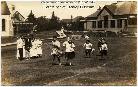 Footrace, Squirrel Island, ca. 1907