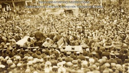 President Taft campaigning, Sanford, 1912