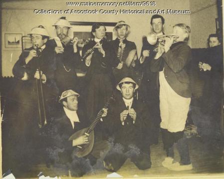 Ricker Classical Institute Music Club, Houlton, ca. 1925