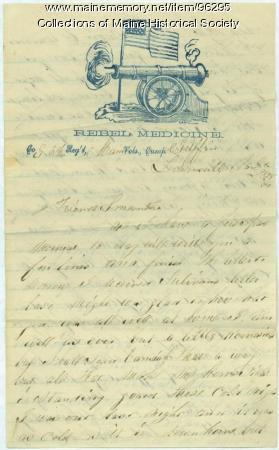 Pvt. John Stewart letter from Lewinsville, VA , 1861