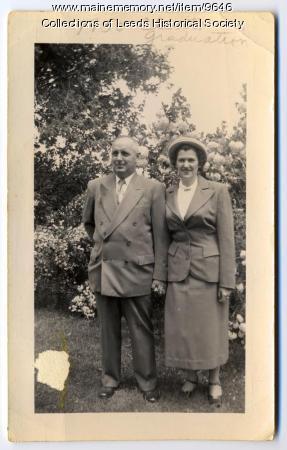 Edson and Hilda Waite, Leeds, 1950