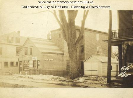 Item 96475 66 Veranda Street Portland 1924 Vintage Maine Images