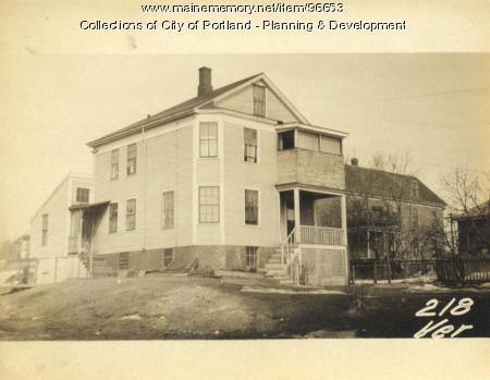 Item 96653 218 Veranda Street Portland 1924 Vintage Maine Images