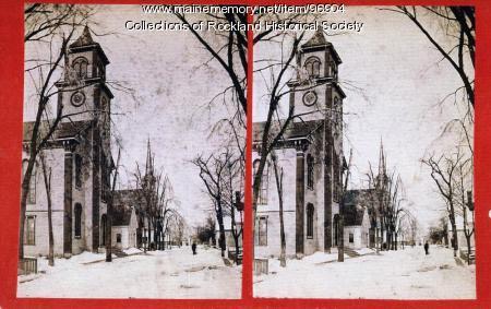 Methodist Church, Union Street, Rockland, ca. 1875