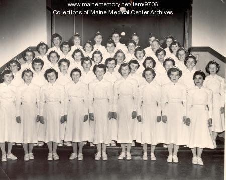 MMC School of Nursing, Portland, 1954