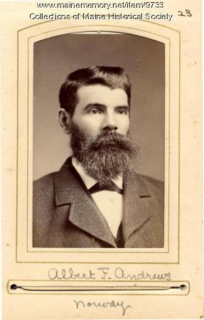 Albert Andrews, Norway, 1880