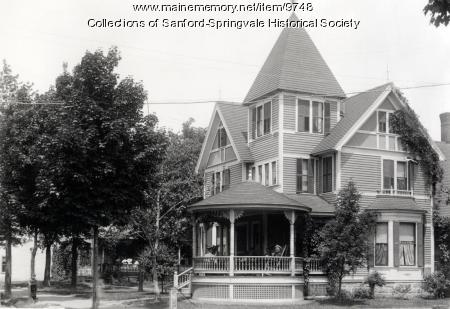 Edward E. Hussey Home, Sanford, ca. 1910