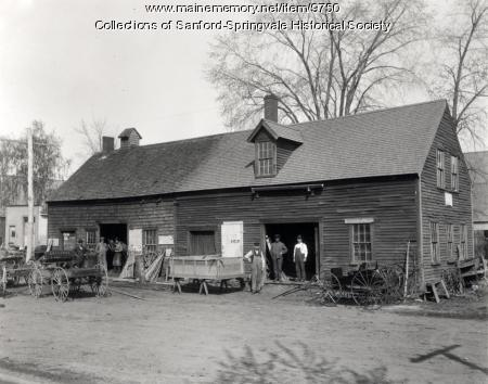 Orrin Roberts' Blacksmith Shop, Sanford
