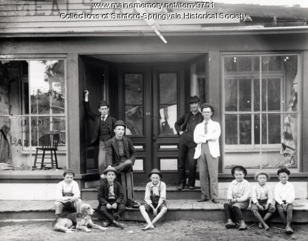 Ice Cream Parlor, Springvale, ca. 1895