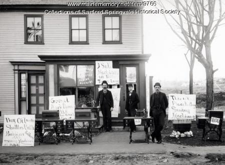 Fred Philpot Store, Springvale, ca. 1890
