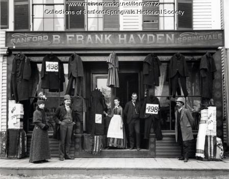 B. Frank Hayden's Store, Springvale Square