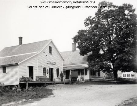 Brackett's Store at Emery's Mills, circa 1902
