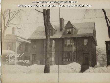 21 Thomas Street, Portland, 1924