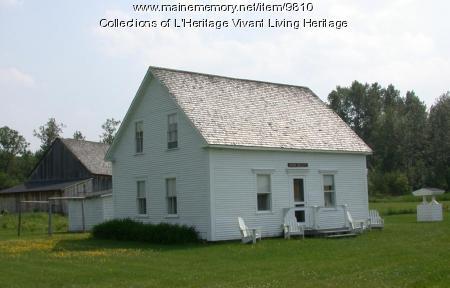 Ouellette house, Van Buren, 1850s