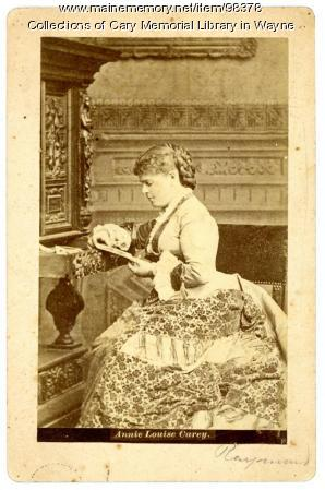 Annie Louise Cary, ca. 1875