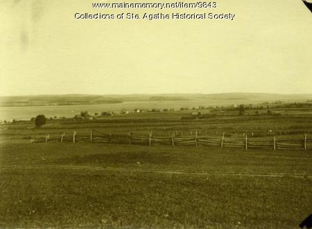 View of Long Lake, St. Agathe, ca. 1908
