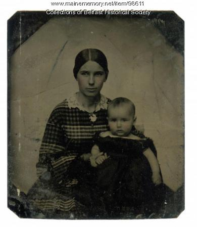 Harriet Burgess Towne, Belfast, ca. 1860