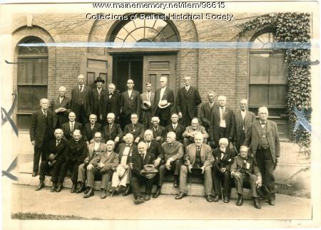 Waldo County Veterans Association, Belfast, ca. 1920