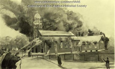 St. Agatha Fire
