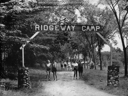 Katharine Ridgeway Camp, Jefferson, ca. 1940s