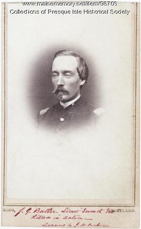 Lt. Joseph G. Butler, Presque Isle, 1861