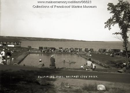 Swimming Pool, Belfast City Park, ca. 1938