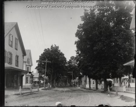 Main Street, Springvale, ca. 1895