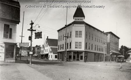 Springvale Square in 1899