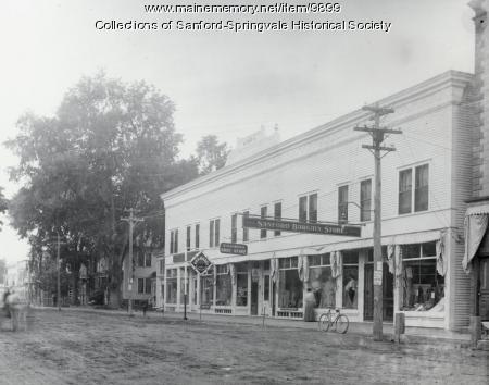 Fogg Block, Main Street, Sanford, ca 1906