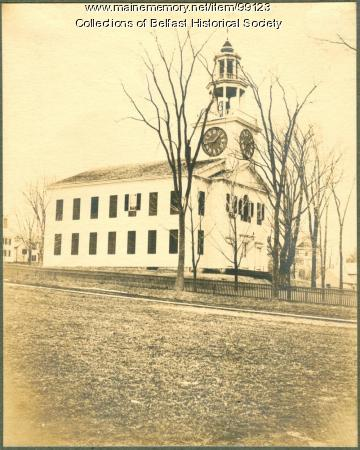 First Church, Belfast, ca. 1900