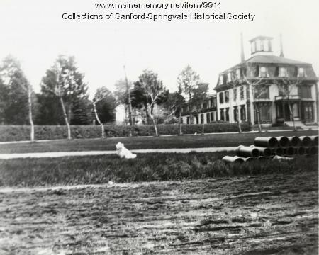 Goodall Mansion, Sanford, ca 1905