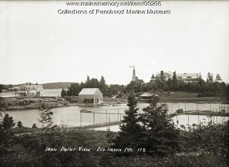 Iron Point View, North Haven, ca. 1915